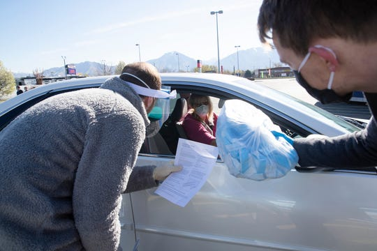 Intermountain Healthcare, University of Utah Health, Latter-day Saint Charities and several Utah non-profits have teamed up to enlist volunteers to make medical grade masks, face shields and other personal protective equipment for medical caregivers on the front lines of the COVID-19 crisis.