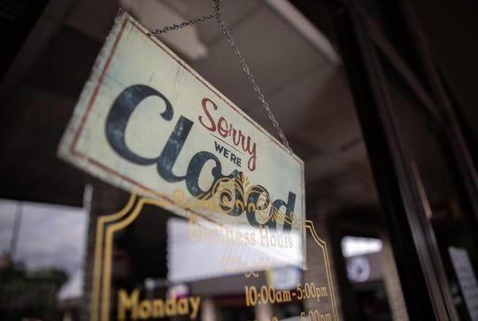 The Parlour Salon in San Marcos is closed during the COVID-19 pandemic.