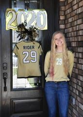 Mindy Shoffit is a captain for the Rider High soccer team during a season that won't be played.
