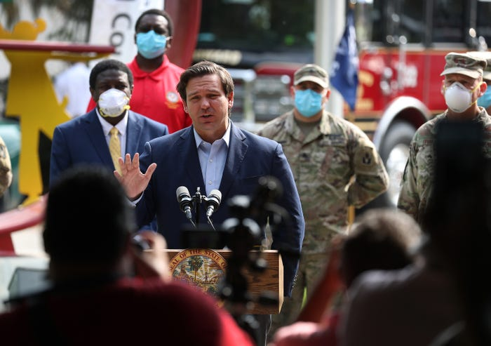 Governors cautiously shape plans to reopen states after Trump unveils new guidelines for coronavirus