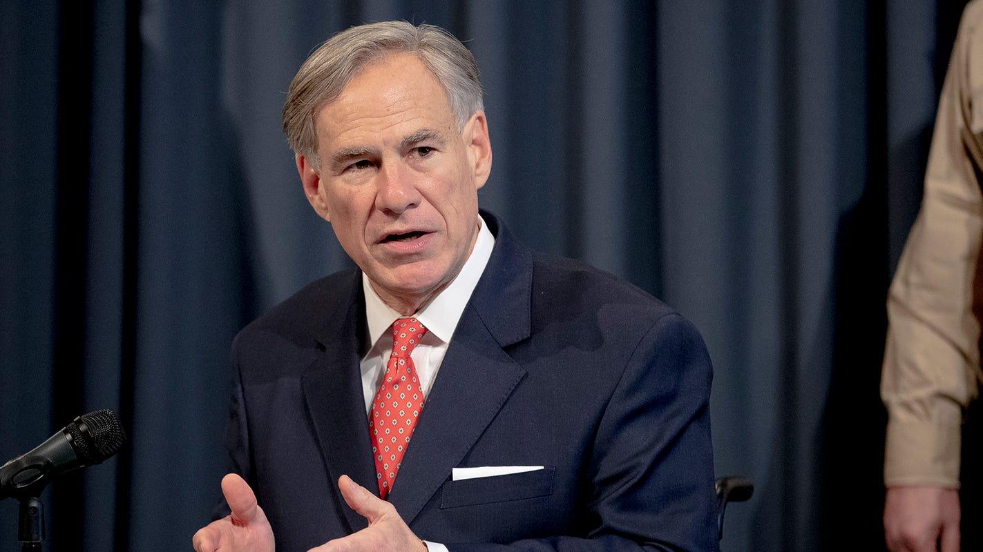 Texas Gov. Greg Abbott eases some restrictions in fight against the coronavirus