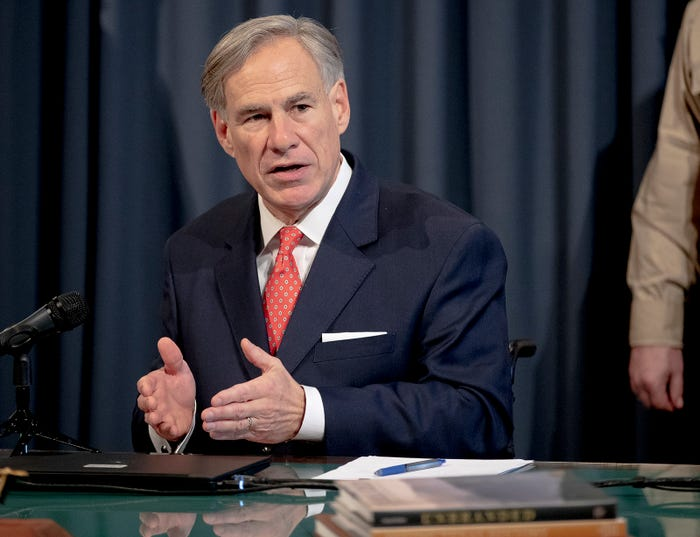 Texas Gov. Greg Abbott eases some restrictions in fight against the coronavirus
