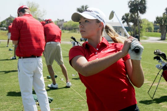 IWA golfer Jaimie Bibby won the TAPPS Class 4A state championship in 2011, as the Angels boys and girls teams also claimed titles.