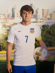 Brady Randle of Newport Catholic High School signed to play soccer for Thomas More University