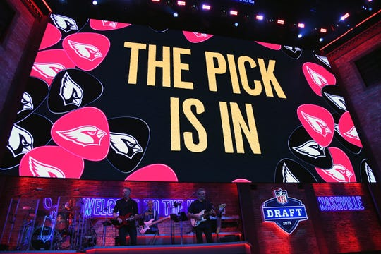 The first round of the 2020 NFL Draft is scheduled to begin Thursday at about 8 p.m.