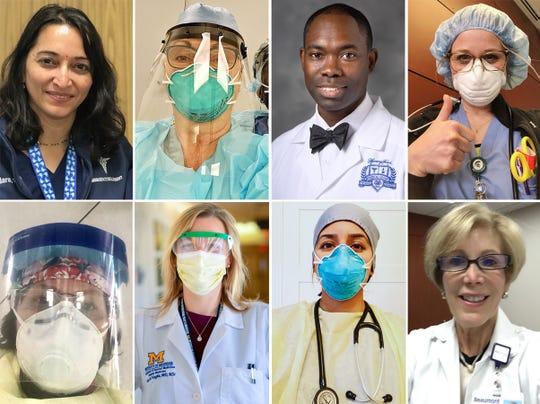 Healthcare spotlight workers