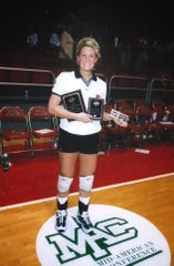 Emily Bainter, formerly Emily Sallee, earned the Mid-American Conference player of the year award in 1999 during her career playing volleyball at Ball State. She was also the MAC's freshman of the year in 1997.