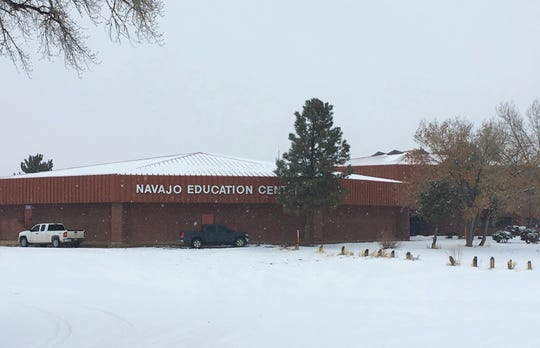 The Navajo Education Center is pictured on Jan. 14, 2019 in Window Rock, Arizona. The building houses the Department of Diné Education.