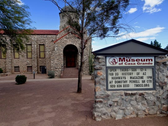 The Museum of Casa Grande is just across the street from the Neon Sign Park.