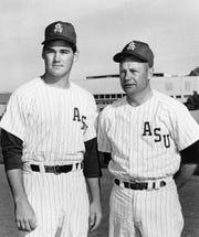 Doug Nurnberg (left) was on Bobby Winkles' '65 title team.
