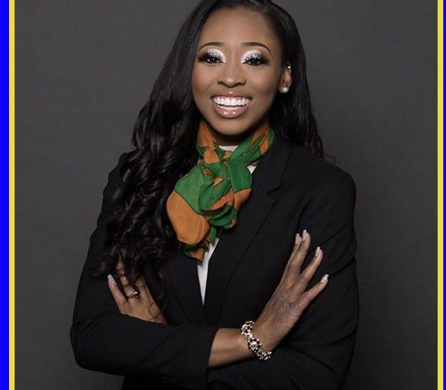 Sha'Riauna Campbell, business major at Florida A&M University