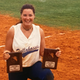 Jen Bega McLemore was a two-time softball All-American at guatemo.community College in 1993 and 1994.