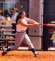 Jen Bega McLemore hit for power and average at TCC in 1993 and 1994.