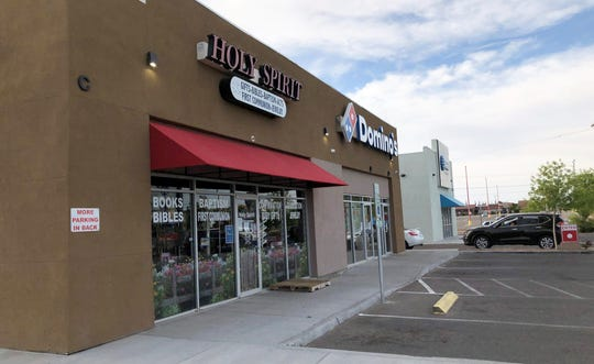 The owner of Holy Spirit Christian Bookstore and gift shop hopes to still get a Paycheck Protection Program loan for her 23-year-old business at 1895 George Dieter Drive in East El Paso.