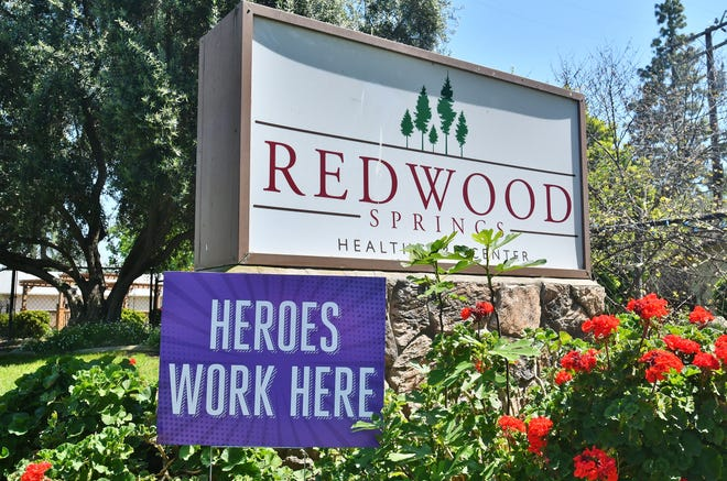 Redwood Springs Healthcare Center in northeast Visalia has the worst COVID-19 outbreak among nursing home residents in the state, according to a new California Department of Public Health report.