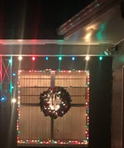 "FLORIDA TODAY columnist Britt Kennerly: ""We put a few Christmas lights back up on March 24, and I swore I'd leave them up until people stop dying from a virus that makes the whole world cry."""
