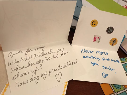 Volunteers of all ages from across the Space Coast were part of a project to get cards filled with positive messages to older residents isolated at assisted living and other senior residences.