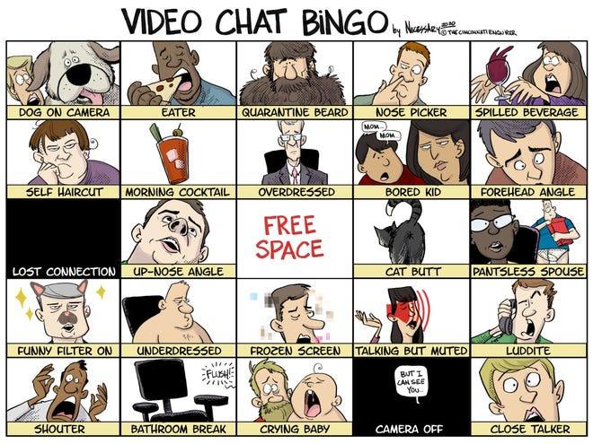 Kevin Necessary political cartoon