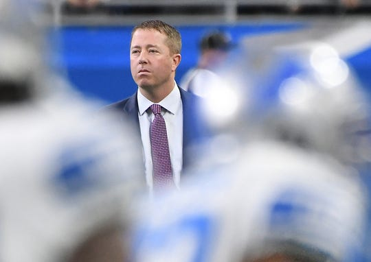 Lions general manager Bob Quinn owns the No. 3 overall pick in this week's NFL Draft.