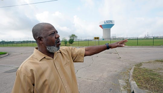 Activist Hilton Kelley talks about the neighborhood where he grew up Monday, March 23, 2020, in Port Arthur, Texas.