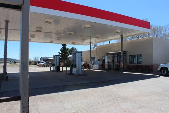 The Corona Mini-Mart in Corona, N.M., is pictured on Wednesday, April 15, 2020.
