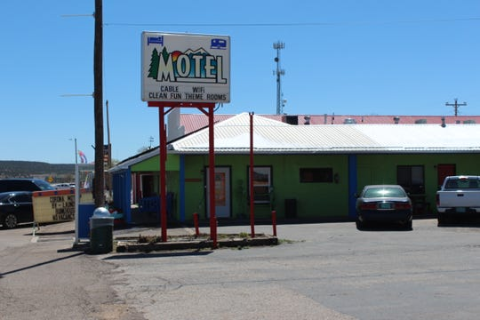 The Corona Motel is pictured on Wednesday, April 15, 2020.