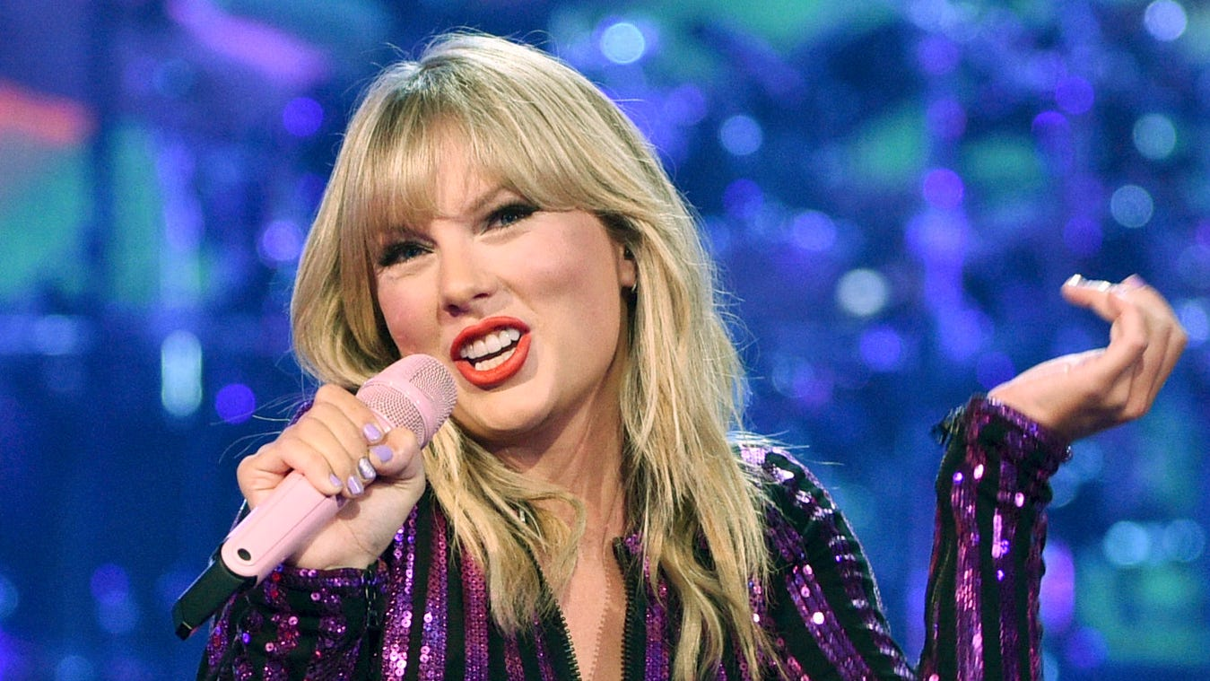 Taylor Swift vows 'We will vote you out' after Trump tweets about shooting Minneapolis looters
