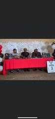 Peabody senior Melvion Flanagan (center) signed with Northwest Florida Sunday.