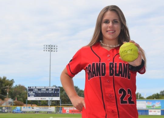 The Enquirer looks to #CelebrateSeniors this spring as they go without a final season, including the writer's niece, Brielle Broderick, who plays softball for Grand Blanc.