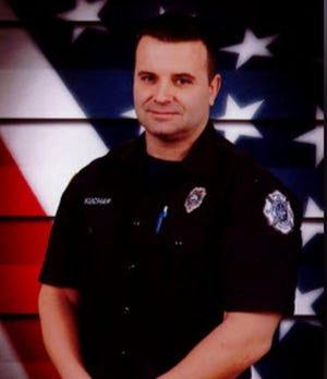 Burlington Firefighter Sgt. Andy Kuchar died in his home in Hebron Thursday after sustaining a work-related injury.