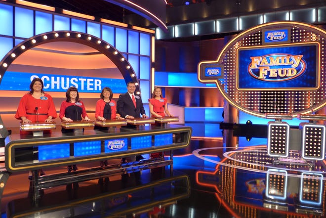 "The Schuster Family from Cincinnati will be on ""Family Feud"" on Monday, April 27."