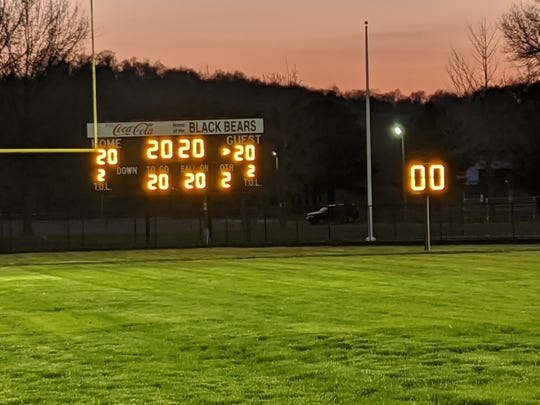 River View High School put on its stadium lights on Saturday to honor the seniors of the Class of 2020. Many schools around Ohio also lit up their fields on Monday to recognize their seniors.