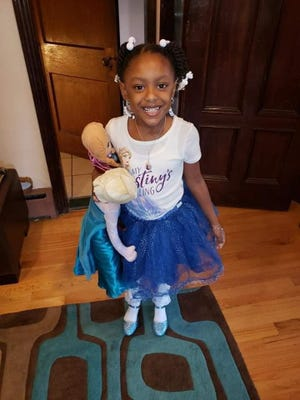 Skylar Herbert, 5, of Detroit, became the first child to die of COVID-19 in Michigan on Sunday, April, 19, 2020.
