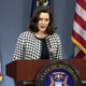 Gov. Gretchen Whitmer gives a COVID-19 update.