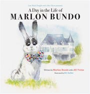 """""""Last Week Tonight With John Oliver Presents A Day in the Life of Marlon Bundo,"""" written by Marlon Bundo with Jill Twiss and illustrated by EG Keller."""