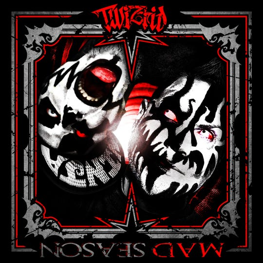 "Twiztid's latest album, ""Mad Season."""