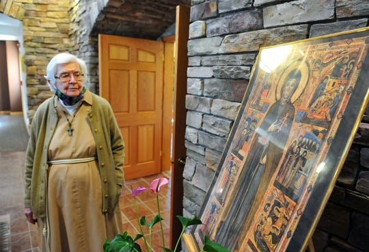 Sister Maryalice Pierce talks about Saint Clare for whom the sisters of the Poor Clare Monastery follow.