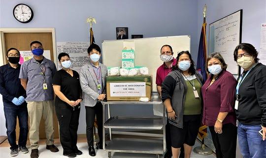 Lotte Duty Free Guam donated 1,000 KN-95 masks to Guam Memorial Hospital.