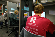 AskRose Homework Help tutors take calls from students and parents all over Indiana for free tutoring sessions. AskRose employs over 100 Rose-Hulman Institute of Technology students as tutors.