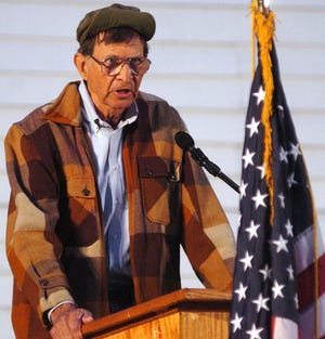 """Tom Lester, remembered for his portrayal of the character Eb Dawson on the television show """"Green Acres,"""" died Monday, April 20, 2020, in Nashville, Tenn. He is pictured in this Nov. 20, 2007, photo taken in Jackson, Miss."""