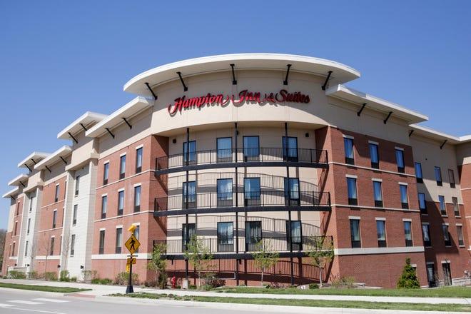 Hampton Inn & Suites, 160 Tapawingo Drive, Monday, April 20, 2020 in West Lafayette.