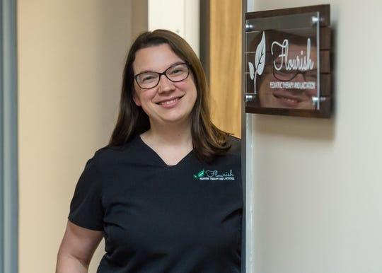 Jeanne Pichoff at Flourish Pediatric Therapy and Lactation. Monday, April 20, 2020.
