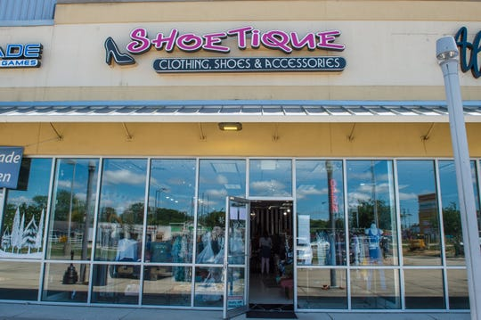 Shoetique on Hector Connoly Rd in Carencro is looking forward to opening after the new rules have been put in place for some businesses to reopen. Monday, April 20, 2020.