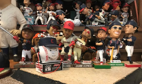 The Cleveland Indians usually do one bobblehead giveaway during spring training every year. In 2020, the Indians did a Shane Bieber bobblehead giveaway.