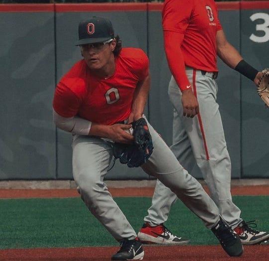 Ohio State's Avery Fisher had his freshman baseball season canceled because of the coronavirus pandemic.