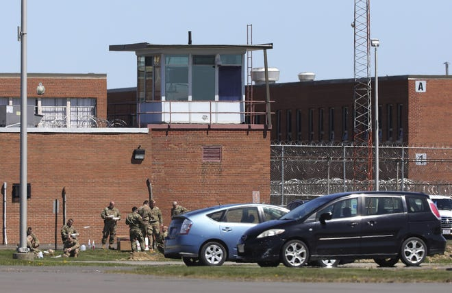 Members of the Ohio National Guard came to help when Marion Correctional Institution became a hotspot for COVID-19 in April. That was a big challenge Warden Lyneal Wainwright worked to overcome last year.