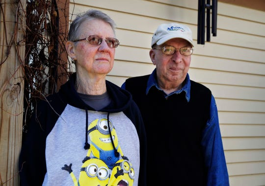 Tom and Altha Arden of South Milwaukee never received their absentee ballots for the spring election.