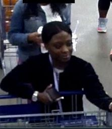 Veronica Lashae Hunter, of Georgia, is wanted in connection with a Prattville ID theft case.