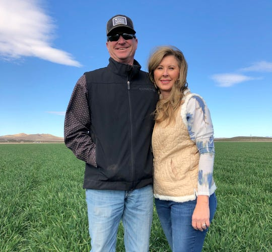 Gary and Sandy Shiflett of Shiflett Farms in Deming, NM.