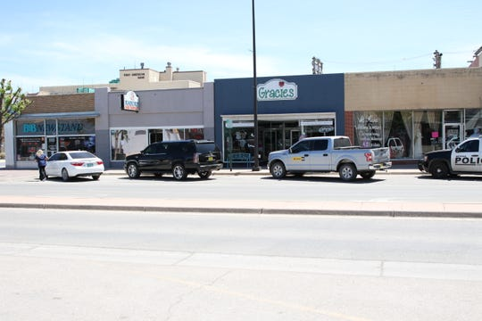 Some businesses in downtown Artesia remained shuttered on April 20, 2020. Eddy County Board of Commissioners are set to hold a special meeting asking Gov. Michelle Lujan Grisham to reopen all businesses in New Mexico.